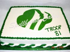 Girl Scouts cake.