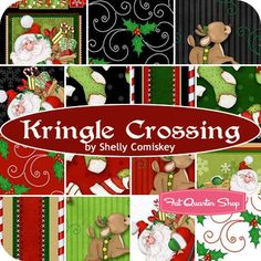Kringle Crossing Fat Quarter BundleShelly Comiskey for Henry Glass Fabrics | Fat Quarter Shop