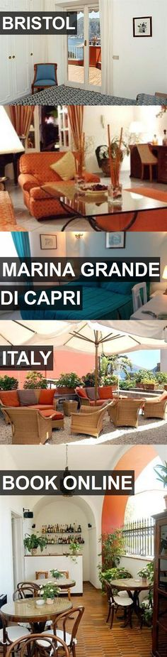 Hotel BRISTOL in Marina Grande di Capri, Italy. For more information, photos, reviews and best prices please follow the link. #Italy #MarinaGrandediCapri #travel #vacation #hotel