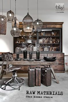 Im Done Today New Pictures For Raw Materials Store I Love My Job Vintage HomesInterior DecoratingDesign
