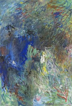 """thunderstruck9:  """"Milton Resnick (American, 1917-2004), Empire, 1959. Oil on canvas, 78 x 58 in.  """""""