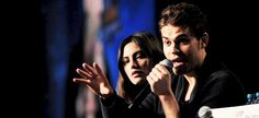 """Paul Wesley and Phoebe Tonkin at FanXperience Panel, January 31st"""