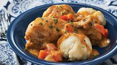 Our Chicken Paprikash with Dumplings recipe is a twist on a classic eastern European dish. Always a family favourite, give it a try tonight! Chicken Paprikash With Dumplings, European Dishes, Dumpling Recipe, Spaghetti And Meatballs, Fresh Fruits And Vegetables, No Calorie Foods, Chicken Seasoning, Chicken Recipes, Recipe Chicken