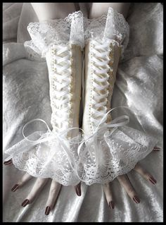 Corset Sleeves (don't like the nails at all though)