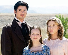 Clark, his first wife, Ellen; and her sister, Cassie.