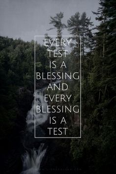 Every test has made me stronger and made my faith grow!  #alhamdulillah  #ThankYouAllah #TestsAreBlessings