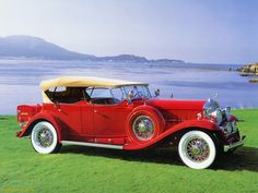 1930 Cadillac V16 Phaeton -- when the answer to how to make a car more powerful was to keep cramming more cylinders in the engine.