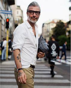 Domenico Gianfrate a la The Sartorialist