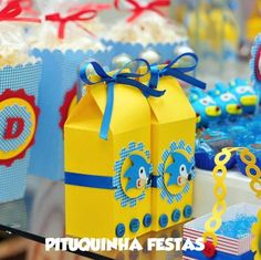 CAIXA MILK SONIC | Pituquinha Festas | 2C2E0C - Elo7