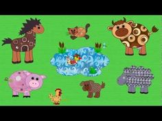 Farm Animals Song for Kids | English for Children