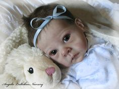 Bonnie Brown Saoirse Newborn Reborn Baby Girl Sold Out Le Lauscha Gorgeous | eBay