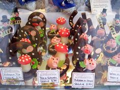 German Marzipan, so CUTE ... and a traditional good luck charm. repinned by www.gorara.com