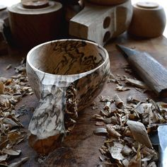 Work in progress. Spalted maple Not for sale