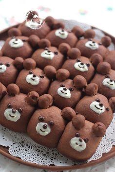 Nasi Lemak Lover: Bear Cartoon Character Bread Buns 小熊小面包