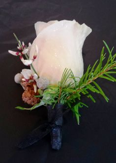 Classy winter wedding boutonniere Wedding Boutonniere, Boutonnieres, Town And Country, Classy, Winter, Floral, Winter Time, Florals, Chic
