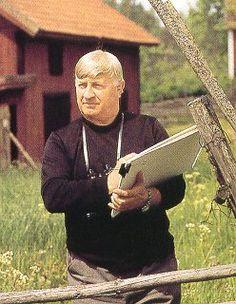 Harald Wiberg 1908-1986 Elsa Beskow, John Bauer, Carl Larsson, Illustration Art, Illustrations, Painters, Authors, Countries, Folk Art