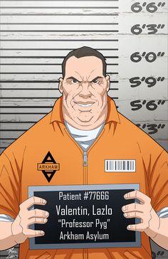 Lazlo Valentin locked up by phil-cho on DeviantArt