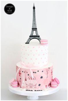 Parisian inspired cakes. My Cupcake Addiction - Elise Strachan