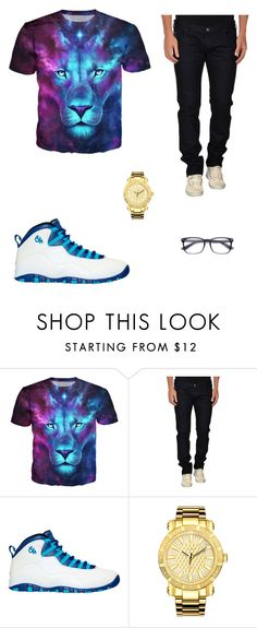 """Unitedgist Men Outing Wear"" by unitedgist-us on Polyvore featuring Armani Jeans, NIKE, JBW, men's fashion and menswear"