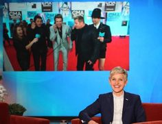 'The Ellen DeGeneres Show' Goes Country on the CMA Awards Red Carpet