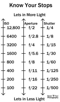 Photography tips | Learn exposure cheatsheet | Boost Your Photography: Manual Mode in Photography - go for it!