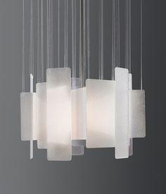 Intersect Light | Miranda Watkins modern light #luminaire #suspension