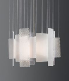 Intersect Light | Miranda Watkins modern light #luminaire #suspension