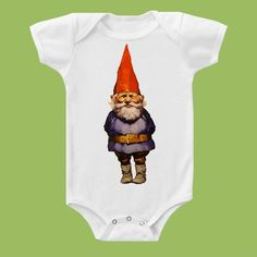 Gnome One Piece One Piece Baby or  TShirt by ChiTownBoutique.etsy