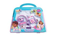 OMG Ivyana would FREAK over a doc mcstuffin costume! Amazon.com: Just Play Doc McStuffins Doctor's Dress-Up Set: Toys & Games