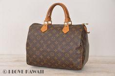 Louis Vuitton Monogram Speedy 30 Hand Bag M41526