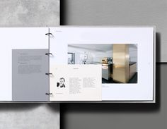 Agatha O I Branding and architects pack for North Cornwall property development Wenford Dries by London based graphic design studio ico. Portfolio Design Layouts, Ideas De Portfolio, Book Portfolio, Portfolio Covers, Layout Design, Architect Portfolio Design, Identity Design, Brochure Design, Brand Identity