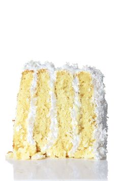 """Coconut Cake from Saveur Magazine's """"Sweet Southern Dreams"""" March '12 issue"""