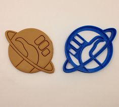 Hitchhikers Guide to the Galaxy thumb Cookie Cutter 3D Printed on Etsy, $8.75