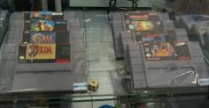 Mais velharias do Super NES no Museu do Videogame