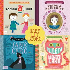 Baby Lit board books - $9.99 each on Amazon. BRILLIANT for my lit loving friends!