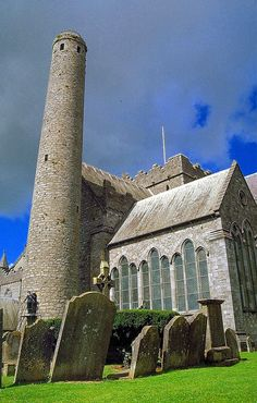Cathedral of St. Canice - Kilkenny, Ireland. This is where Alice Kyteler faced her accusers.