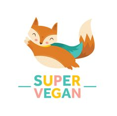 Super Vegan by Camila Rosa, via Behance
