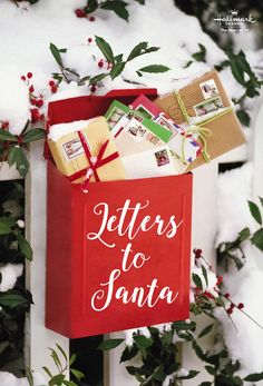 Write a letter to Santa and mail it early! Then join Jodie Sweetin in Finding Santa, premiering November 24th on Hallmark Channel. Part of #CountdowntoChristmas #HallmarkChannel