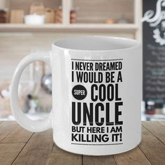 Uncle to be Mug New Uncle Gift Uncle Mug Uncle Coffee Mug