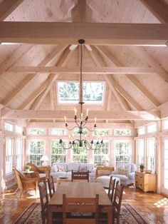Post and Beam   Dining and Sunroom Addition