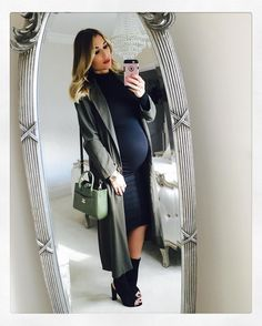 Billie Faiers.. #stylethebump #chicbump #40weeks