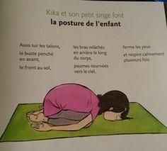 yoga enfants - Kika et le petit singe Namasté