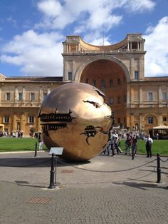 Sphere Within Sphere Vatican City