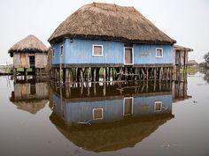(by Laura Colomé)    Ganvie, Benin
