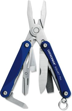 Leatherman Squirt PS4 Multitool - alternative to the swiss army multitool