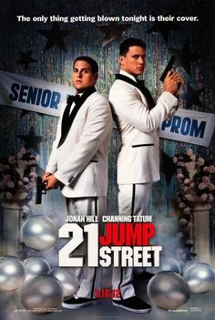 """21 Jump Street."" Really, really funny. I love when movies show things I've never seen before - like the ""assisted vomiting"" scene. Kind of fell apart at the end but it was expected!"