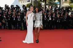 Cannes 2015 Red Carpet Style: Sienna Miller, Lupita Nyong'o, and Others: Glamour.com