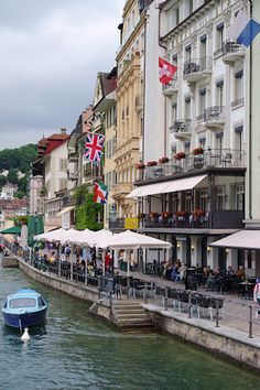 Lucerne, Switzerland (on the Reuss)