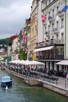 Lucerne, Switzerland (on the Reuss)