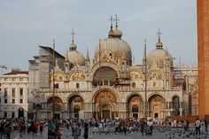 St Mark's Cathedral, Venice.  I had the pleasure of singing here as a soloist as a teenager.